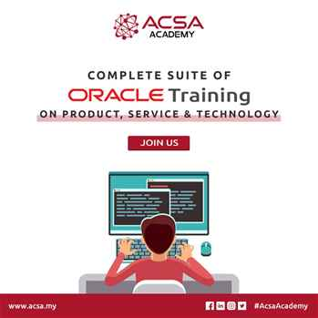 Best Oracle Institute Malaysia  Job Oriented Training Institute  ACSA Academy